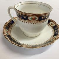 Bell China | Art Deco | 4 x Cup and Saucer Duos, Milk Jug and Sugar Bowl | 1930s
